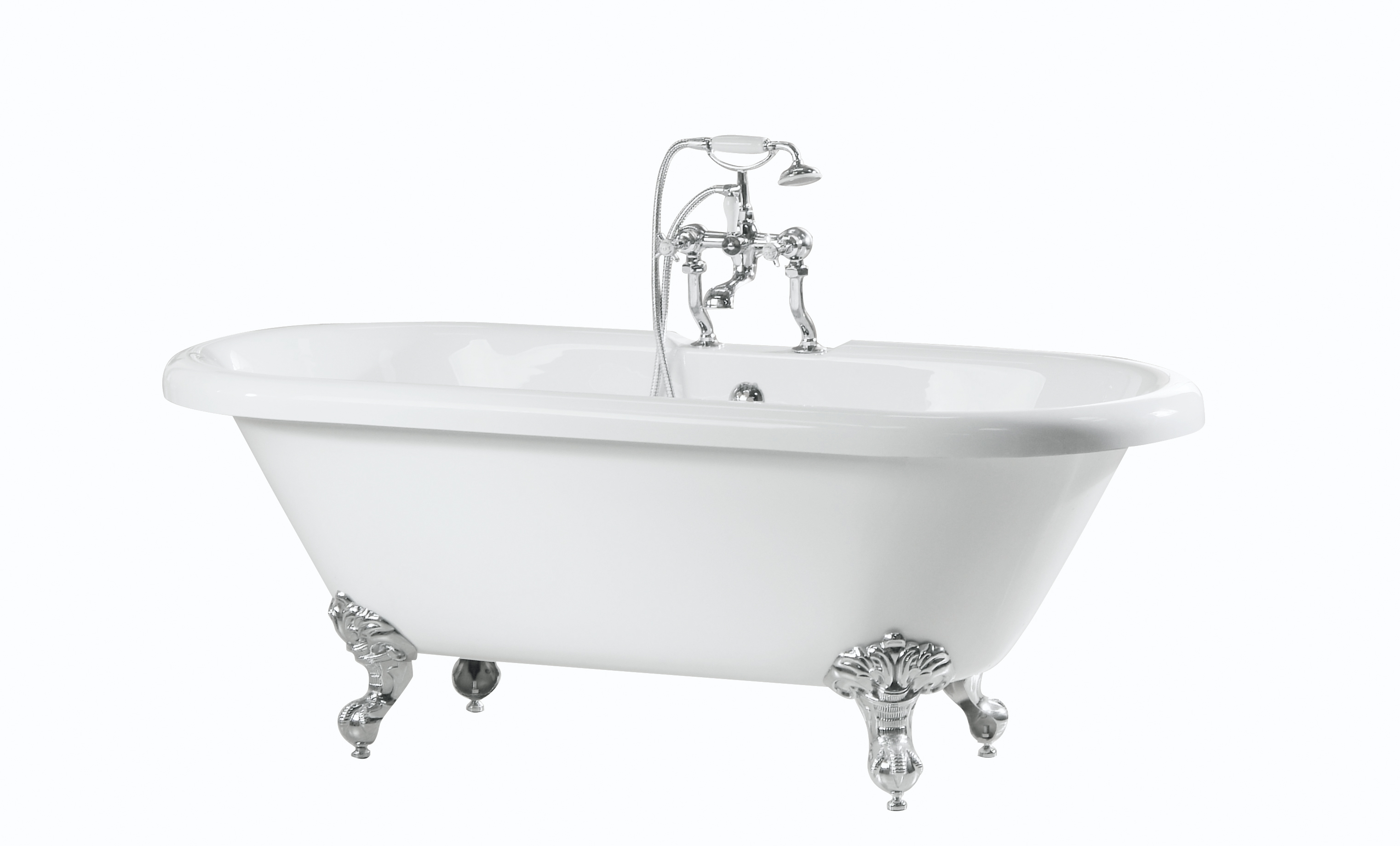 Double Ended Roll Top Bath Baths And Accessories from Cherished ...