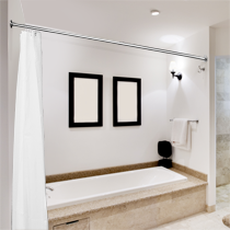 Straight Rail  Shower Curtain Rails